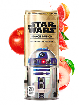 Soda Star Wars Space Punch R2D2 | Edición Coleccionista 355 ml