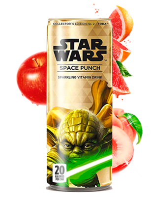 Soda Star Wars Space Punch Yoda | Edición Coleccionista 355 ml