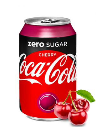 Coca Cola Zero Cherry 330 ml
