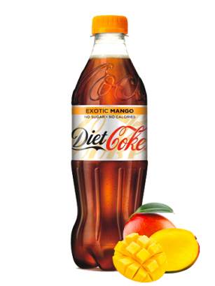 Coca Cola DIET Exotic Mango 500 ml