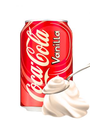 Coca Cola Vainilla USA