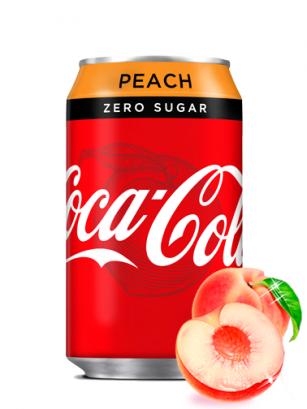 Coca Cola Zero Melocotón 330 ml