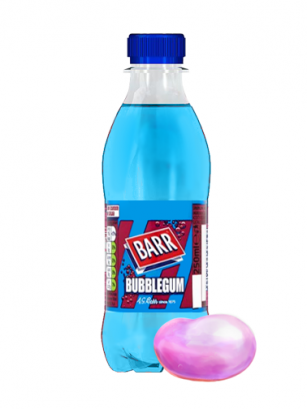 Soda Barr Bubblegum | Sabor Chicle 250 ml