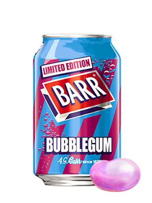 Soda Barr Bubblegum | Sabor Chicle