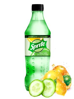 Sprite ZERO de Lima Limón y Pepino 500 ml