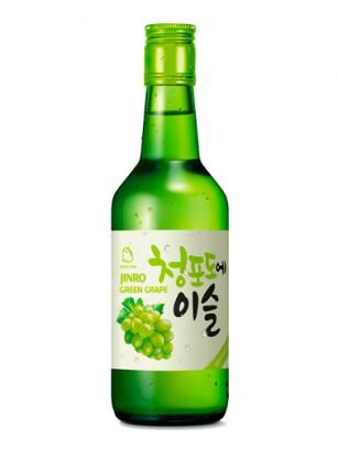 Licor Coreano Soju Chamisul con Uva Blanca 360 ml