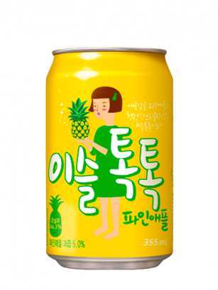 Bebida Soju de Piña | Con Alcohol | Pedido GRATIS!