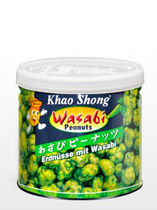 Cacahuetes tostados con Wasabi