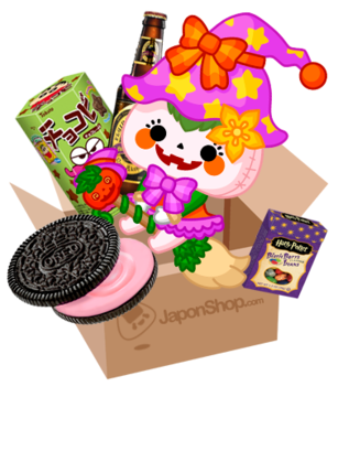 JAPONSHOP Esperando Halloween Festa PackBox | Pedido GRATIS!