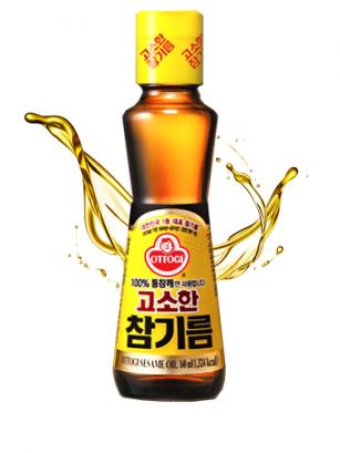 Aceite Coreano de Sésamo Goma Abura | Premium 160 ml