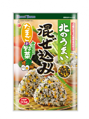 Condimento Bento Furikake Huevo, Verduras y Bonito