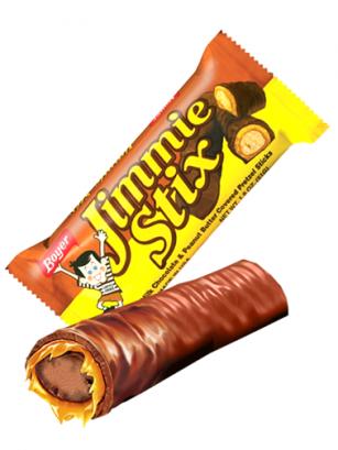 Barrita de Chocolate, Crema de Cacahuete y Pretzel 51 grs