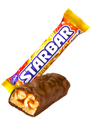 Barrita de Chocolate, Caramelo y Cacahuetes | Starbar