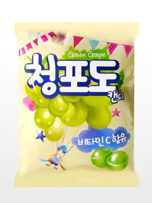 Caramelos Coreanos de Uva Verde | Watercolor Fantasy