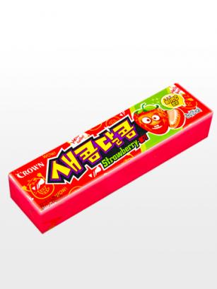 Caramelos Blandos Coreanos de Fresas Ácidas