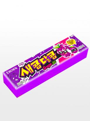 Caramelos Blandos Coreanos de Uva Ácida