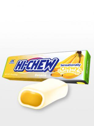 Caramelos Blandos Hichew de Banana | Doble Zumo de Frutas