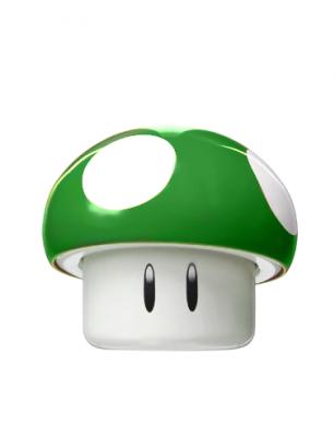 Caramelos Nintendo Super Champiñon Verde | Mario Bros. 25 grs