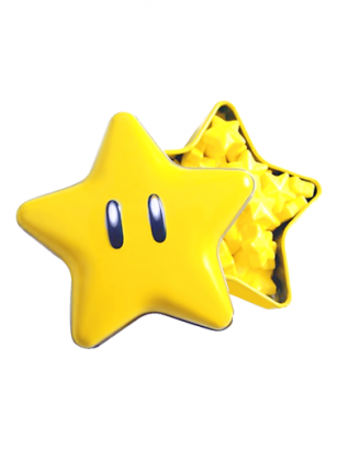 Caramelos Nintendo Super Star Candies | Mario Bros.