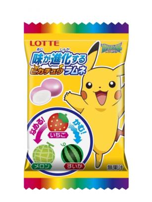 Caramelos Cambiantes de Sabor Pikachu 16 grs