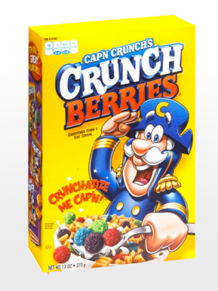 Cereales Crujientes con Puffs de Frutas del Bosque  | Cap'n Crunch
