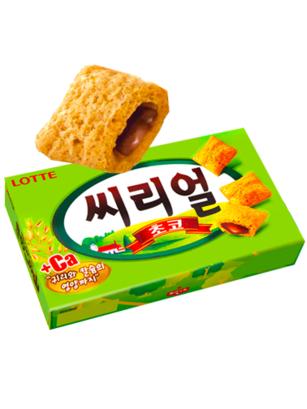 Almohadillas Coreanas de Avena y Trigo rellenas de Chocolate | Lotte  | Pedido GRATIS!