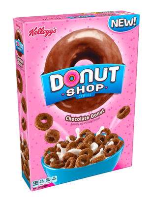 Cereales Donut Shop de Chocolate 283 grs