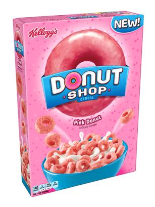 Cereales Donut Shop Rosa 283 grs