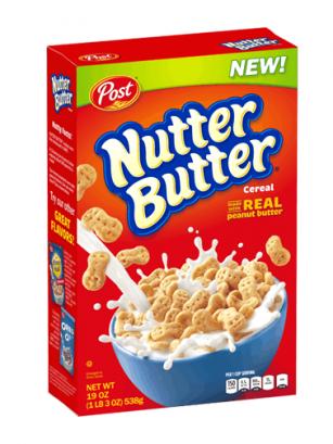 Cereales Nutter Butter | Galletas de Mantequilla de Cacahuete 311 grs
