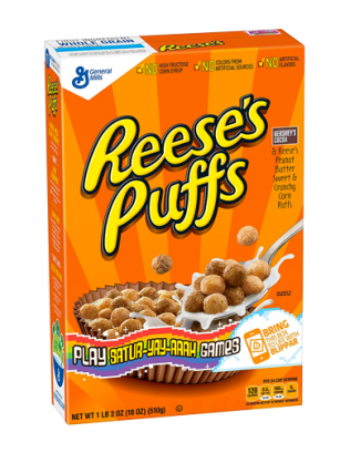 Cereales Reese's Puffs | Sabor Crema de Cacahuete 326gr