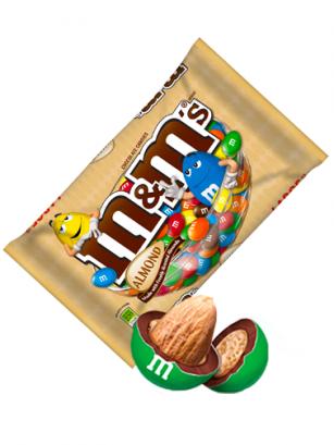 M&M's de Chocolate rellenos de Almendras 80 grs