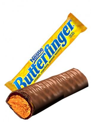 Barrita Crujiente de Chocolate y Crema de Cacahuete | Butterfinger 53,8 grs.