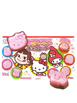 Bombones de Fresa y Chocolate Hello Kitty, Pekochan & Sanrio Friends | Edit. Limitada |