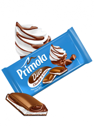 Chocolate Primola de Nata y Cacao 89 grs