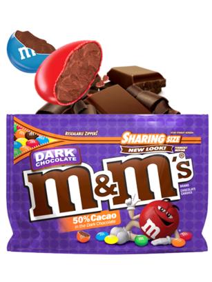 M&M's de Chocolate Negro BIG SIZE