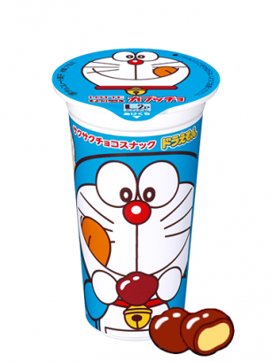 Bocaditos de Chocolate Lotte Capuche Doraemon