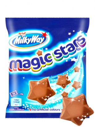 Estrellas de Chocolate y Nougat | Milky Way