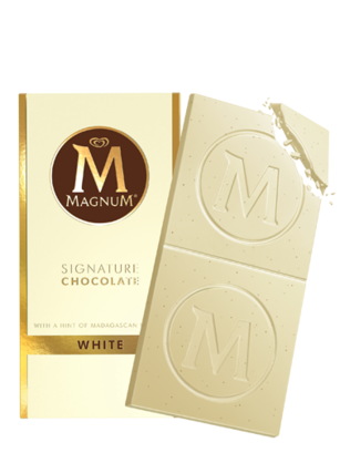 Magnum Chocolate Blanco Signature 90 grs