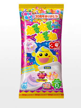 Kit Cream Toppings Candy | Neruneru Nerune Sabor Uva