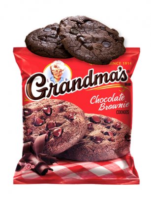 Cookies de Masa de Brownie y Toppings de Chocolate 70 grs