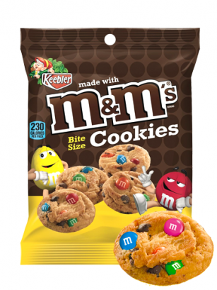 Cookies con Toppings de M&M's 45 grs