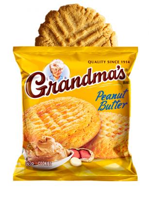 Cookies de Crema de Cacahuete 70 grs