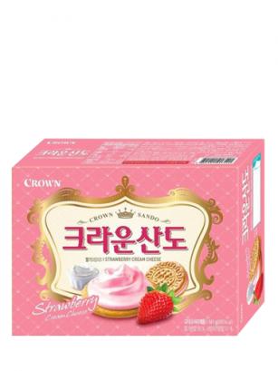 Galletas Coreanas de Crema de Queso, Fresas y Vainilla  | Queen Recipe