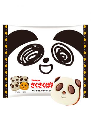 Cookies Saku Panda Chocolate y Vainilla | 102 grs