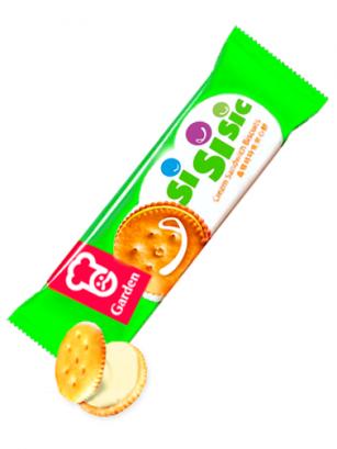 Galletas Saladas rellenas de Crema de Limón 50 grs