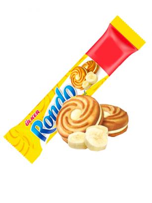 Galletas rellenas de Crema de Plátano | Rondo 76 grs