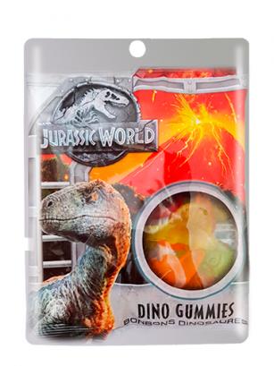 Gominolas Dinosaurios Jurassic World 100 grs