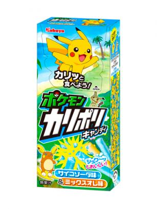 Caramelos en Stick de Ramune y Naranja | Pokemon