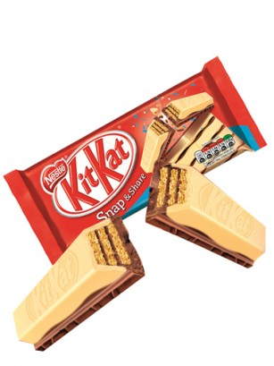 Kit Kats de Cookies & Cream 2 Chocolates | 10 Barritas
