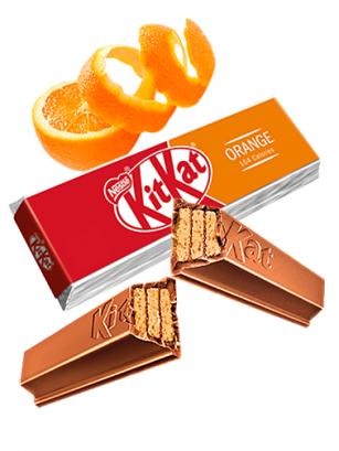 Kit Kat de Naranja | Edición 2 Barritas